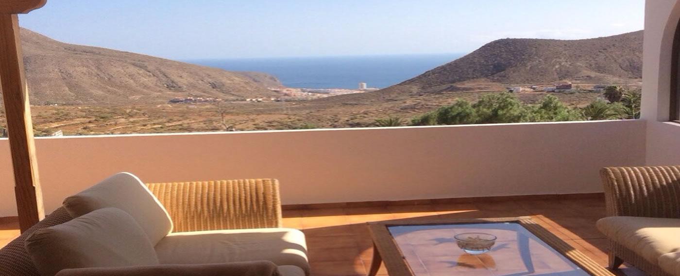 Der Blick von unserer Terrasse